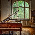 木目ピアノ